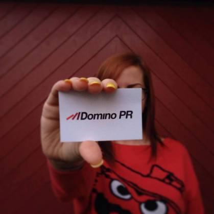 Domino PR Selfie