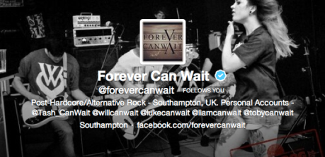 Forever Can Wait verified