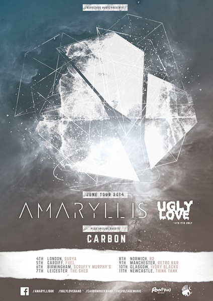 amaryllis tour poster