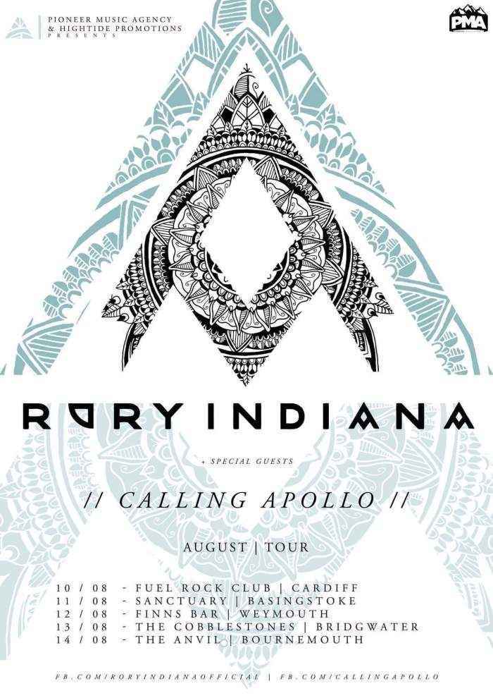 Calling Apollo Rory Indiana Tour